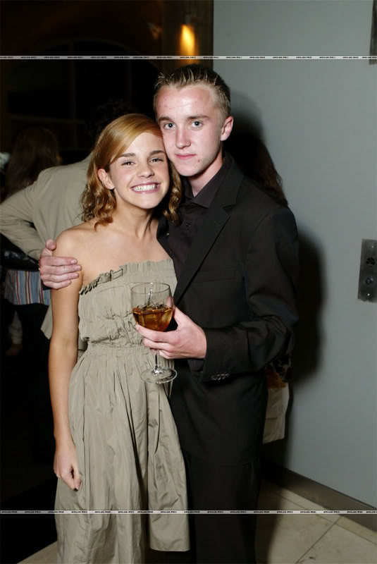 emma watson and tom felton 2011. 2011 Tom Felton and Emma