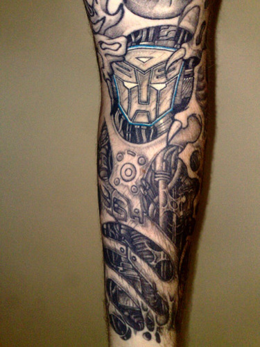 Transformers tattoo - tattoos Photo