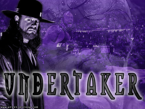 Undertaker kertas dinding