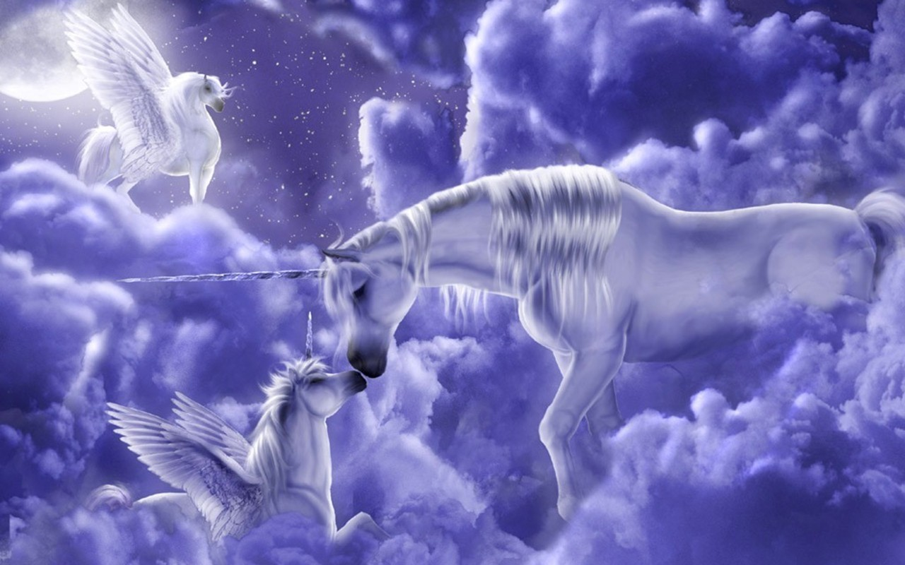magic unicorns animated wallpaper - photo #3
