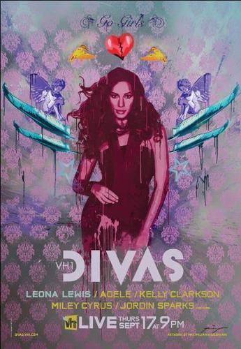 VH1 Divas Poster