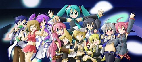 Vocaloids wallpaper entitled Vocaloid Group Pic