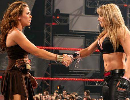 Mickie James & Trish Stratus