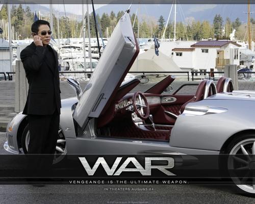 Jet Li karatasi la kupamba ukuta called War