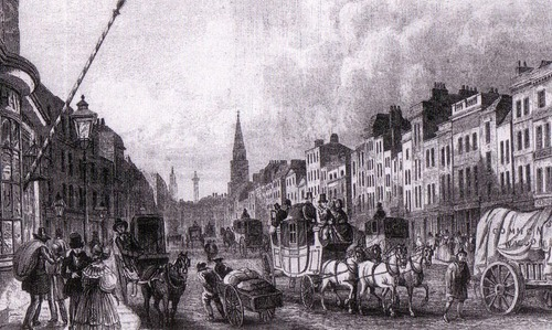 Whitechapel High strada, via 1837
