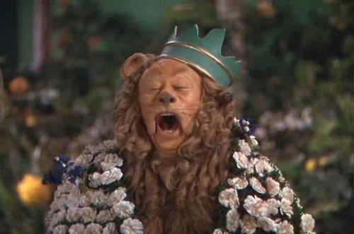 The Wizard of Oz wallpaper titled The Cowardly Lion