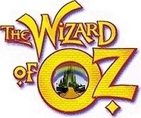 The Wizard of Oz wallpaper possibly containing anime titled Wizard of Oz Logo