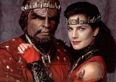 Worf and Dax