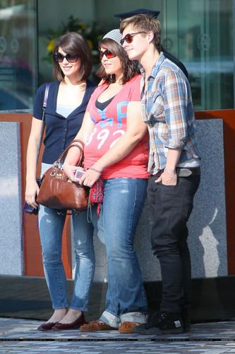 Xavier with Ashley Greene
