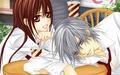 Yuuki y Zero juntos