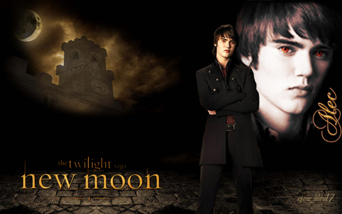 Twilight Series wallpaper with a business suit entitled alec volturi - New Moon Wallpaper