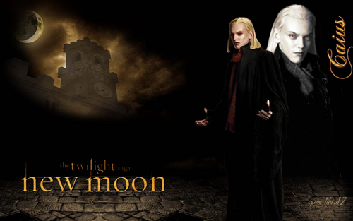 caius volturi - New Moon wallpaper - I also changed his face expresion