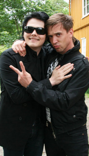 gerard way and ben