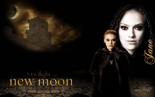 jane volturi - New Moon hình nền - I also changed her face expresion