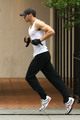 kellan doing his daily jogging (kell and his jog, ash and her dog...we can count on everyday ! :( ) - twilight-series photo