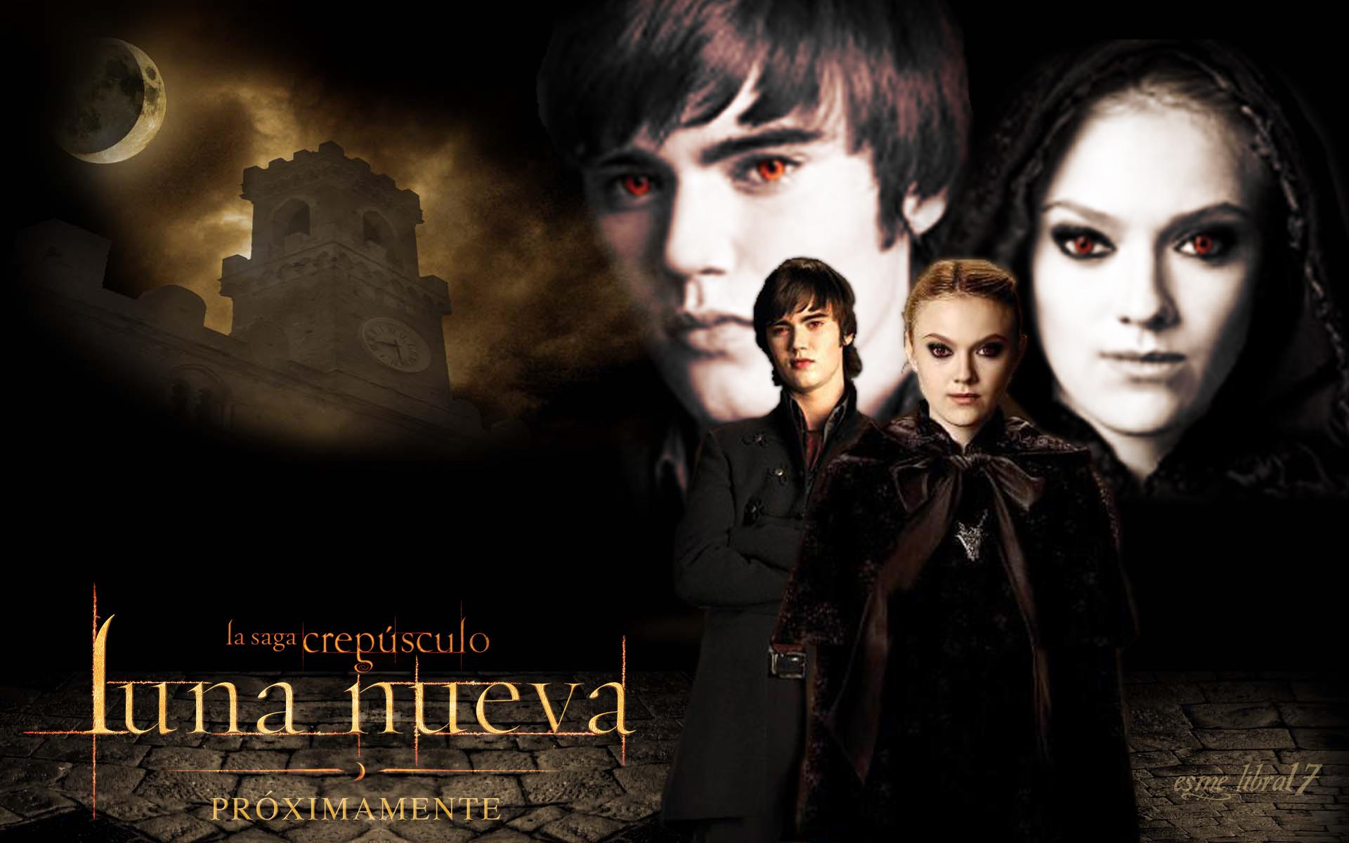 Los volturi alec y jane luna nueva wallpaper for New moon vampire movie