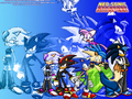 neo-sonic  team - sonic-the-hedgehog wallpaper