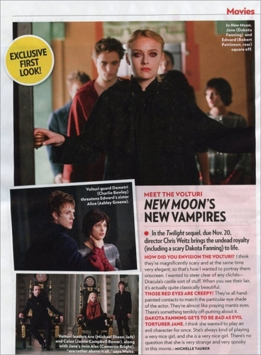 new moon's new pics - volturi first look