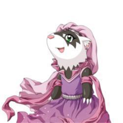 pic, peach the prinses ferret