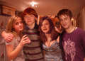 rup,emma,daniel,bonnie - rupert-grint photo