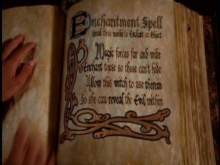 the book of shadows!