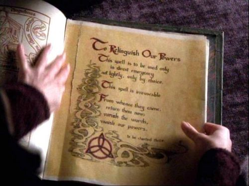 charmed wallpaper entitled the book of shadows!