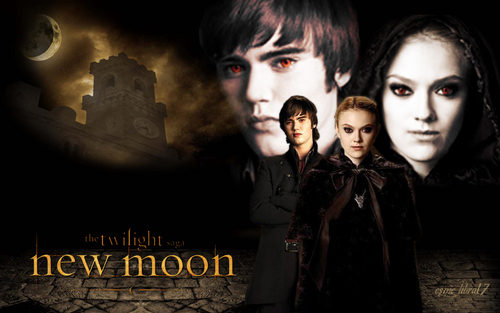 the volturi - Jane and Alec - New Moon hình nền