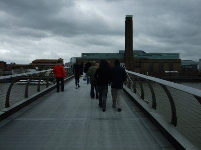 Set foto's > Millenium Bridge - March 2008