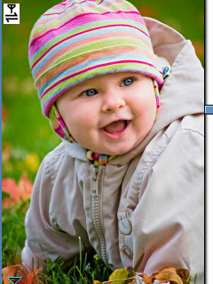 Sweety Babies wallpaper containing a bonnet entitled *Smile Baby* Vicky