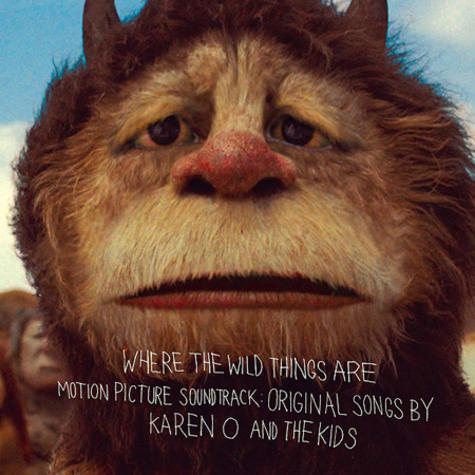 'Where The Wild Things Are' Orginal Soundtrack Cover Art