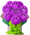 A Bouquet of Smile Cookies