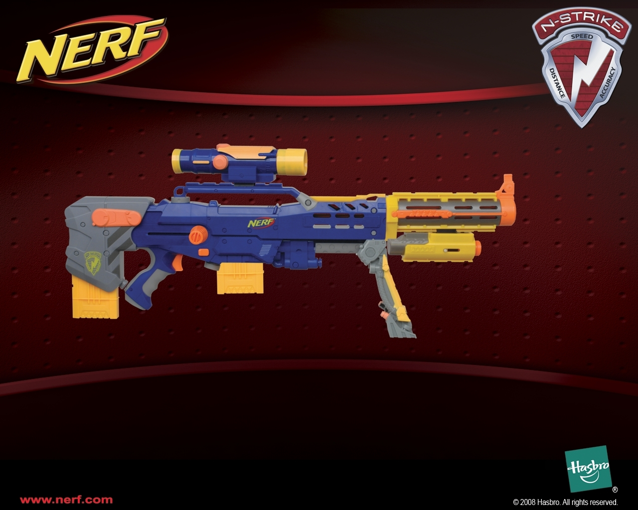 Just 4 Fun Images A Pretty Cool Combo Between 2 Nerf Guns HD Wallpaper And Background Photos