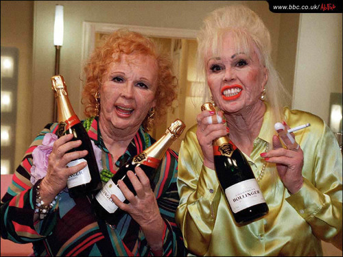 Absolutely Fabulous wallpaper called Ab Fab Wallpaper