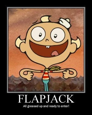 Actualy Flapjack Dialouge
