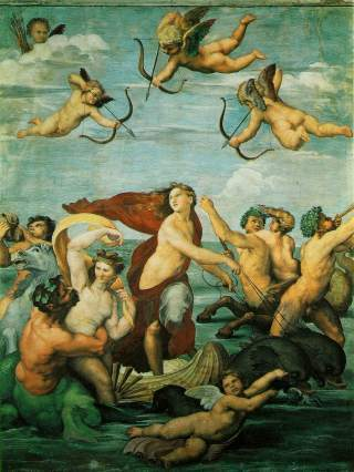 Italian Painting Of Angels