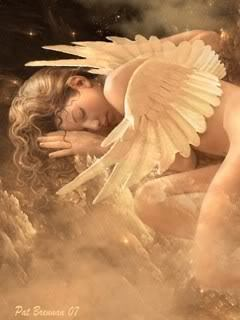 angeli wallpaper titled Sleeping