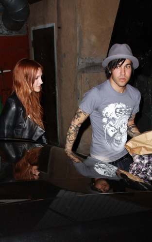 Ashlee & Pete in Hollywood