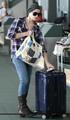 Ashley Greene back in LA with Marlow - twilight-series photo