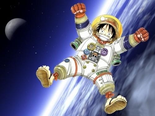 Astronaut Luffy