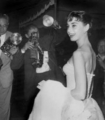 Attending the Roman Holiday premiere - audrey-hepburn photo