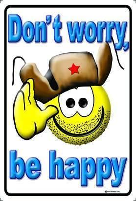 Be happy !