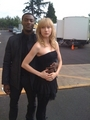 Beth & Aldis behind the scenes - hardison-and-parker photo