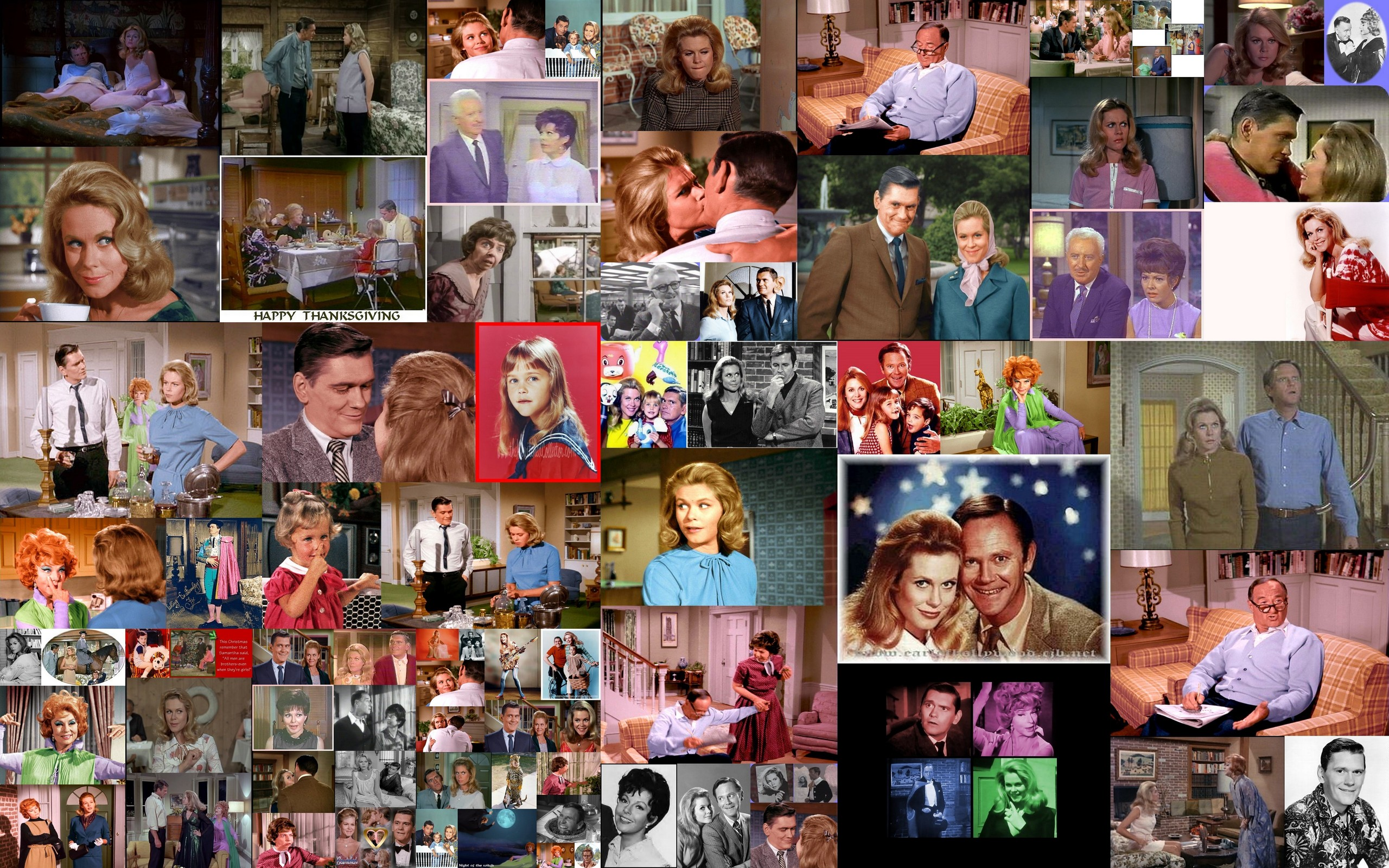 bewitched collage