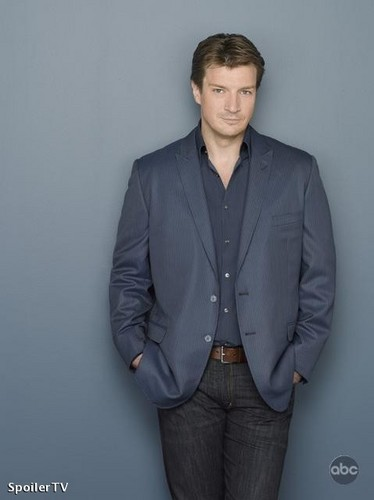 Castle wallpaper containing a business suit, a suit, and a three piece suit entitled Castle - Season 2 - Promotional Photo