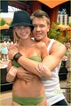 Chad Michael Murray: Shirtless пляж, пляжный Party