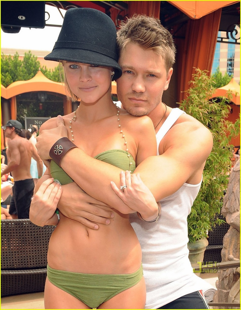 chad michael murray on the beach