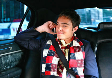 Chuck with the scarf