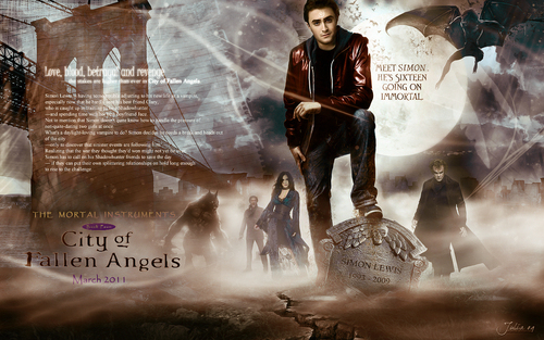 City of Fallen Angels - mortal-instruments Wallpaper