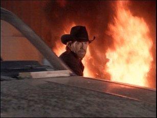 Walker Texas Ranger wallpaper containing a fire and a fire called Cool snapshot