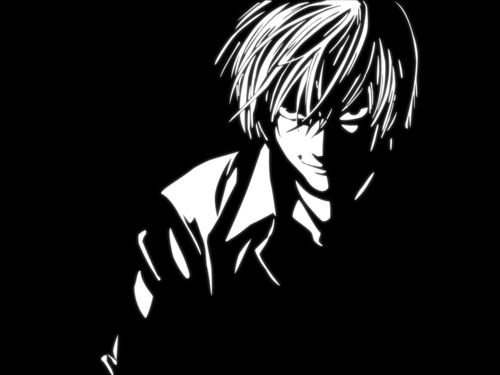 death note wallpaper possibly containing a business suit titled Death Note